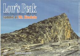 Mount Kinabalu, Summit 4095 M. Sabah. Malaysia First World Heritage Site, Carte Postale Neuve, Non Circulée - Alpinisme