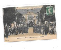 78 - MONTESSON : La Mairie Et La Place Du 14 Juillet - Montesson