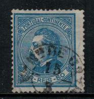 Portugal // 1880-1881 // 50r Bleu - 1862-1884 : D.Luiz I