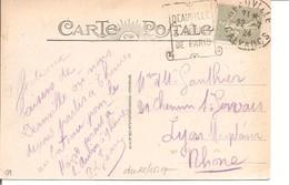 130 Obl Mécanique Deauville... Daguin - Flamme - Semeuse 15c - Marcophilie (Lettres)