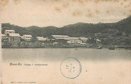 Madagascar 1904 Nossi-Be Village D'Ambanourou Viewcard - Madagaskar