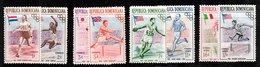 1957 MNH Set Fanny Blankers-Koen (1918-2004), Jesse Owens (1913-1980) (300) - Dominicaanse Republiek