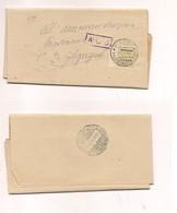 2409) AMGOT SICILIA ALLYED 23-3-1944 25c RIBERA AGRIGENTO ACS CENSURA - 1861-78 Vittorio Emanuele II