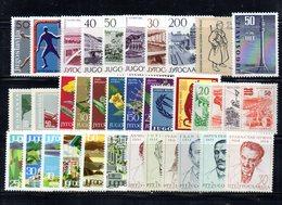 YUG1965 - YUGOSLAVIA 1965, L'annata Dei Commemorativi  Composizione Come Da Scan ***  MNH - Jugoslavia