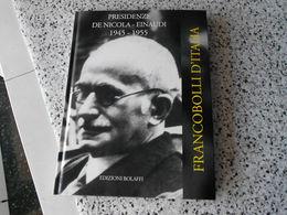 Libro Edito Da Bolaffi Con I Francobolli Usati 1945-1955 - 1946-60: Afgestempeld