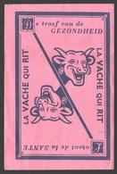 Buvard / Vloeipapier La Vache Qui Rit - Couleur Rose / Roze - Produits Laitiers