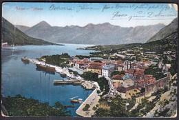 Montenegro Tivat 1918 / Kotor - Cattaro / Panorama, Port, Luka / Ships, Boats - Montenegro