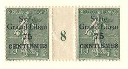 Millésime Semeuse Syrie Yvert 96 Maury 96 - Syrie (1919-1945)