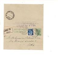 2466) 1930 Intero Postale Biglietto Raccomandato Distretto Imperiale + Michetti - Entero Postal