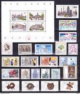 Duitsland Berlin 1987 Nr 733/58 Compleet **, Zeer Mooi Lot 3234 ( Cat +55 €) KOOPJE. Bieden Vanaf 1 € - Timbres
