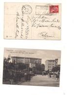 2467) 1933 Annullo Meccanico Targhetta TRASPORTATA PER VIA AEREA Fiuggi - Storia Postale