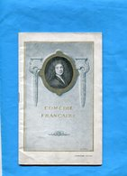 Livret Programme Comédie Française -1922-26 Pa220-+-135ges -photos Acteurs-et Publicités' D'époque - Programs