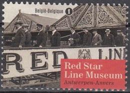 Belgique 2013 COB 4377 Neuf ** Cote (2016) 1.50 Euro Musée Red Star Line Anvers - België