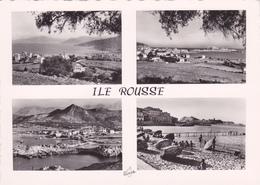 Haute Corse,ile Rousse Et Sa Plage Au Sable D'or,prés Calvi,balagne,CARTE PHOTO MIRAMONT DE BASTIA - Calvi