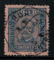 Portugal // 1892-1893 //  300r Bleu S. Saumon - 1892-1898 : D.Carlos I