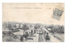 (21333-50) Martinvast - La Gare - Other Municipalities
