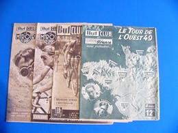 BUT ET CLUB TOUR DE L OUEST 1949 1951 LOT DE 4 NUMEROS  VELO CYCLISME DONT N° SPECIAL - Sport