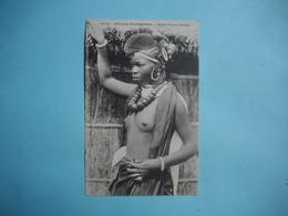 AFRIQUE OCCIDENTALE  FRANCAISE  (  Guinée  -  Sénégal )  -  Jeune Femme Foulah  -  Seins Nus  - - Mali