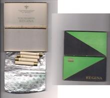 2470) REGINA Scatola Epoca Con 4 Sigarette Monopoli Stato - Porta Sigarette (vuoti)