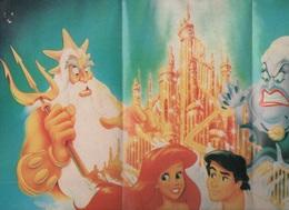 AFFICHE / POSTER LA PETITE SIRENE - WALT DISNEY PICTURES - MICKEY CLUB DU LIVRE - Posters