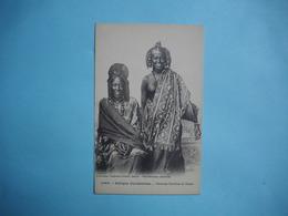 AFRIQUE OCCIDENTALE  FRANCAISE  -  ( Mali )   -  Femmes Peuthes De Oualo  -  Sein Nus  - - Mali