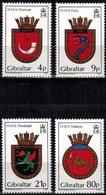 MVS-BK1-195 MINT ¤ GIBRALTAR 1985 4w In Serie ¤ MARITIEM - VOILIERS - ZEILSCHEPEN - SAILING SHIPS OVER THE WORLD - Maritiem