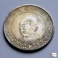 China - Yunnan Province - 50 Cents - 1917 - FALSE - Imitazioni