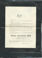 Niort (79 ) F.P. Déces De M Florent-Célestin Jardin  Le 14/06/1913  Mald6409 - Obituary Notices