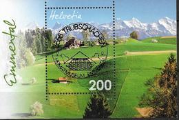 2014.  Schweiz Mi.  Bl 57   Used  Emmental - Blocks & Kleinbögen