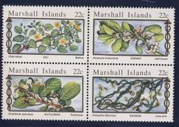 MARSHALL 1985 FLEURS  YVERT N°105/08  NEUF MNH** - Végétaux
