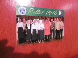 D 80 - Rollot - 11e Salon De La Carte Postale - 10 Octobre 2010 - Anniversaire Du Comité Rotincia - Autres Communes