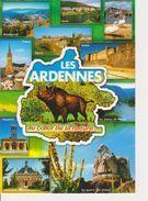 08 ARDENNES - CARTE GEOGRAPHIQUE AVEC MULTIVUES - Maps
