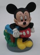 Tirelire Mickey En Plastique Dur - Sans Marque - Sans Date - Hauteur 21 Cm - Disney