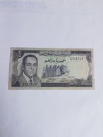 MAROCCO 5 DIRHAMS 1970 - Marocco