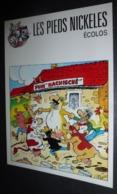 Carte Postale - Les Pieds Nickelés écolos (vaches) Illustration : Pellos - Pellos