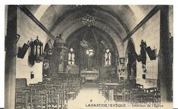 ~  JP  ~  12     ~    LABASTIDE - L ' EVEQUE  ~   Intérieur De L' église . Cpa Unique  . - France