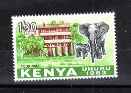 Kenya  -  1963. Elefanti. Elephants. MNH - Elefanten