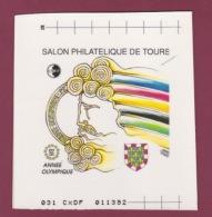 FRANCE   - 081018 -  Maquette D'impression De Raphael THIERRY - Feuillet CNEP 1992 N° 15 Touraine - CNEP