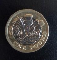 One Pound Coin From England 2016 - 1971-…: Dezimalwährungen