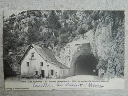 LES ECHELLES LE TUNNEL ( NAPOLEON I  1814 ) ET ENTREE DE L'ANCIEN PASSAGE - Les Echelles