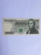 POLONIA 5000 ZLOTYCH 1982 - Poland