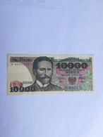 POLONIA 10000 ZLOTYCH 1987 - Polonia
