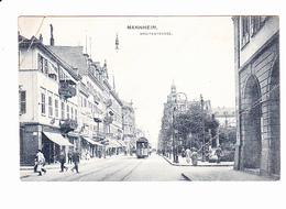 MANNHEIM (Allemagne), Tramway, Avenue, Magasins, Ed. Gerhard Thien 1908 - Mannheim