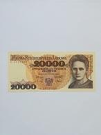 POLONIA 20000 ZLOTYCH 1989 - Polonia