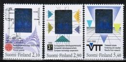 1992 Finland Holograms Complete Set MNH. - Holograms