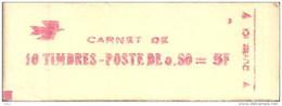 """CARNET 1664-C 1 Marianne De Bequet """"CAISSE D'EPARGNE POSTALE"""" Daté 5/12/70 Conf. 4 Fermé. Parfait état RARE. - Usage Courant"""