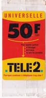 CARTE TELEPHONE TELE2  - 50 F - Jeux