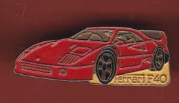 54229-Pin's.Ferrari F40. Signé Yoshinori Pin's. - Ferrari