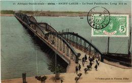 CPA Fortier 11, Saint Louis- Le Pont Faidherbe, SENEGAL (762010) - Senegal