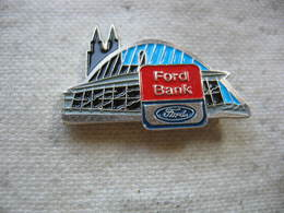 Pin's De La Ford Bank, Banque De Financement De Véhicules Ford - Ford